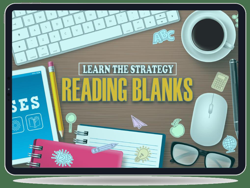 reading blanks